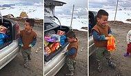 Bu Görüntüler Çok Şey Anlatıyor: #biroyuncakdasenver Kampanyası ile Oyuncağına Kavuşan Çocuk