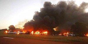 Öfkeli Pilotun İntihar Uçuşu: Eşinin Bulunduğu Binaya 'Uçağı Kasten Düşürdü'