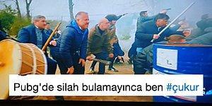 Çukur'un Absürt Çatışma Sahnesini Mizaha Alet Edip Güldüren 15 Kişi