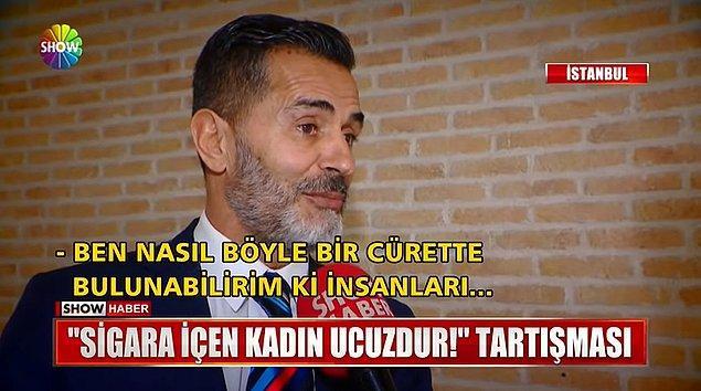 Show Tv ekibi o sözleri söylediği iddia edilen Yaşar Alptekin'e ulaştı.