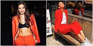Tüketim Çılgınlığına Dikkat Çekmek ve Fazladan Kıyafete İhtiyacımız Olmadığını Göstermek Amacıyla 2 Ay Boyunca Aynı Kıyafeti Giyen Kadın