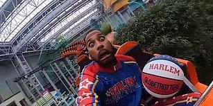 Dünyanın En İyi Gösteri Ekiplerinden Harlem Globetrotters'ın Adrenalin Dolu Trick Shot'ları