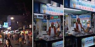 Tayland'da Sezen Aksu Şarkısı Çalarak Dondurma Satan Muhteşem İnsan!