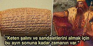 Arkeologlar, Babil'in Son Kralı Tarafından Yazılan, Dünya'nın İlk Ayrılık Mektubunu Keşfettiğini İddia Ediyor!