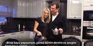 Ekrem İmamoğlu ve Eşinin, İzleyen Herkesin Gözlerinden Kalpler Fışkırtan Aşırı Samimi Videosu!