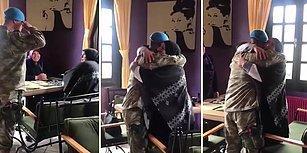 Uzun Süredir Askerde Olan Mehmetçik'ten Annesine Muhteşem Sürpriz