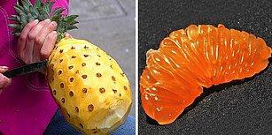 Meyvelerin Kusursuz Bir Biçimde Soyulduğu Bu Fotoğraflara Bakarken Fazlasıyla Rahatlayacaksınız!