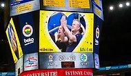 Fenerbahçe Karşılaşmasında Eğlenceli Görüntülere Sahne Olan Kiss Cam Uygulaması