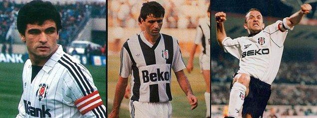 Beşiktaş formasını en çok giyen 3 futbolcu: