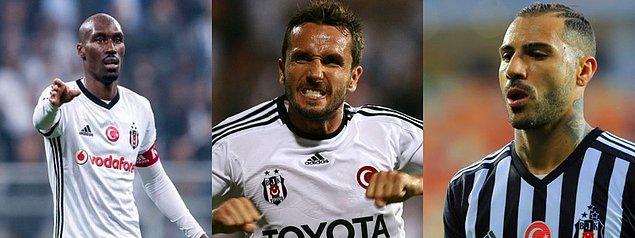 Beşiktaş formasını en çok giyen 3 yabancı futbolcu:
