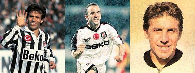 Beşiktaş formasıyla en çok gol atan 3 futbolcu: