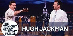 Hugh Jackman ve Jimmy Fallon'dan Canlı Yayında Rekor Denemesi