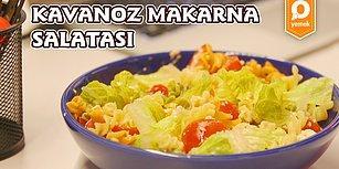 Kavanozda Yapabileceğiniz En Leziz Tarif! Kavanoz Makarna Salatası Nasıl Yapılır?