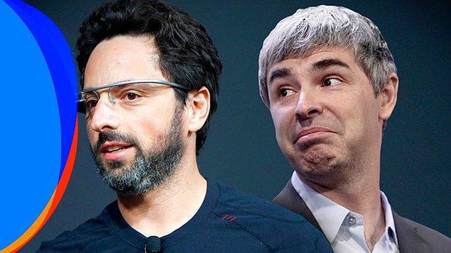 1 dolar alan zenginler Dorsey ile sınırlı değil. Google kurucuları Sergey Brin ve Larry Page de 1 dolar alıyor.