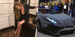Son Model Lamborghini'sini 350 Bin Dolara Swarovski Taşlarla Kaplatan Rus Instagram Fenomeni