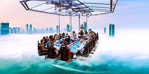 Yemek Yemeyi Bir Başka Boyuta Taşıyarak Misafirlerine Ekstrem Deneyimler Tattıran 14 Restoran