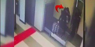 Valiziyle Beraber X-Ray Cihazının İçinden Geçen Genç
