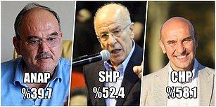 İzmir'de Son 35 Yılda Yapılan Yerel Seçimlerde Hangi Aday Ne Kadar Oy Aldı?