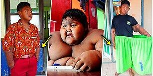 190 Kilo Olan Dünyanın En Kilolu Çocuğunun Akıllara Durgunluk Veren Değişimi