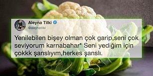 Karnabahara Olan Aşkını Dünya Aleme Duyuran Aleyna Tilki'nin Yazdığı Tweet'e Gelen Birbirinden Komik Tepkiler