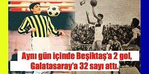 Sadece Fenerbahçe'nin Değil Türk Spor Tarihinin Efsane İsmi Can Bartu