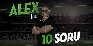 Fenerbahçe'nin Büyük Kaptanı Alex Taraftarın Sorularını Yanıtladı: Derbi Öncesi Alex'e Sorulan 10 Soru ve Cevabı
