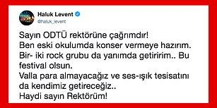 """Haluk Levent'in Hiçbir Ücret Almadan Konser Yapmayı Kabul Ettiği """"ODTÜ Uluslararası Bahar Şenliği"""" İçin Birçok Ünlü Seferber Oldu!"""