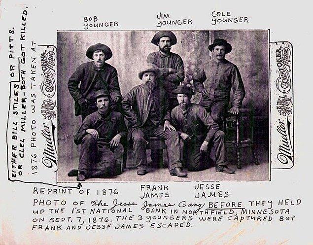 Kansas City Times gazetesinin müdürü John Newman Edwards, Jesse James'i kahraman olarak gösterip Güney ruhunun tekrar Jesse ile canlanacağını yazması üzerine Jesse James inanılmaz ünlenir. Edwards, Jesse'yi adeta bir kahramana dönüştürmüştür.