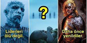 Westeros'ta Taş Üstünde Taş Bırakmamak İçin Yaldır Yaldır Geliyorlar, Peki Neyin Nesi Bu Ak Gezenler?