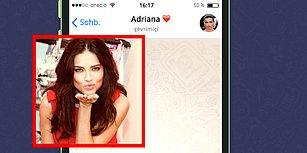 WhatsApp'ta Adriana Lima'yı Tavlayabilecek misin?
