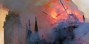 Paris'teki Notre Dame Katedrali'nde Çıkan Yangın 8.5 Saat Sonra Kontrol Altına Alındı