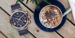 Saat Senin İçin Bir Tutkuysa ve Saatsiz Dışarı Çıkamayanlardansan En Şık Saatler Senin İçin Bir Arada!