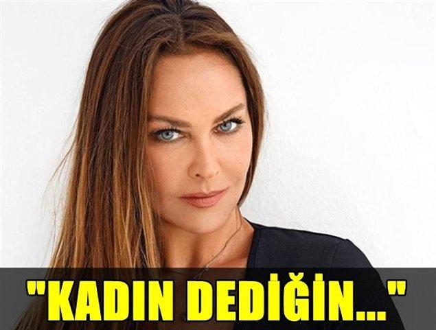 """11. Hülya Avşar'ın """"kadın"""" kavramını oldukça sığ bir kalıba sokması kafalardan dumanlar çıkartmıştı!"""