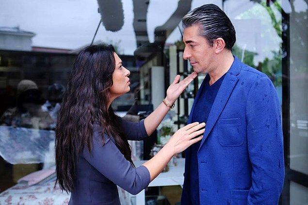"""15. Erkan Petekkaya, """"Paramparça"""" dizisindeki rol arkadaşı Nurgül Yeşilçay'ı taciz ettiği iddialarıyla gündeme gelmişti."""