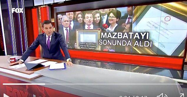 Bir diğer troll kurbanı ise Fatih Portakal ile Fox tv oldu. :)