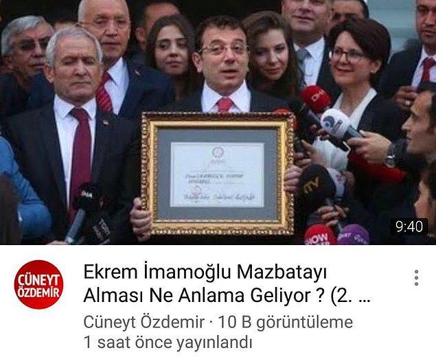 Cüneyt Özdemir de kurbanlardan bir tanesiydi...