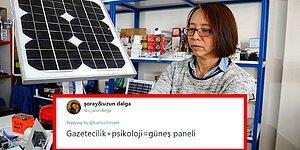 Bu Ne Güzel Bir Kombinasyon! Bingöl'de Yaşayan Çinli Gelin Ying Sarı Güneş Paneli Üretmeye Başladı