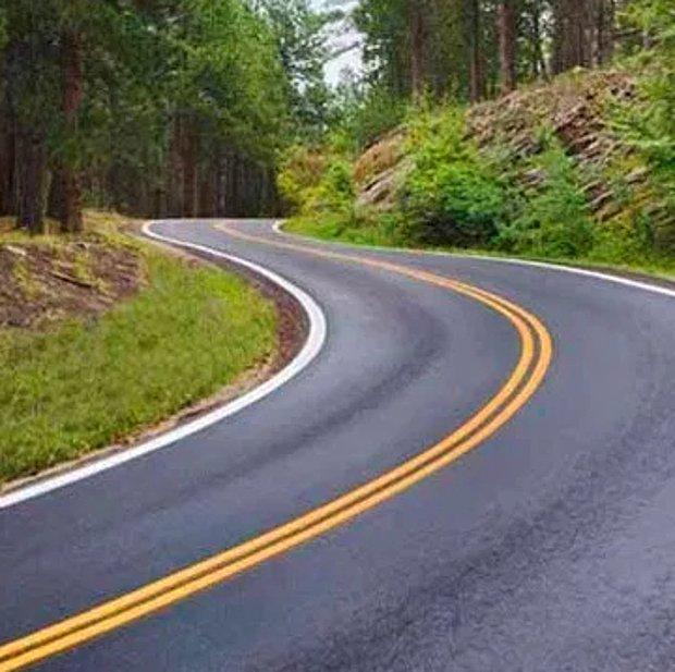 Çift devamlı yol çizgisi