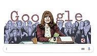 Kadına Şiddetin Gölgesinde: Feminizmin Türkiye'deki Öncülerinden Kabul Edilen Duygu Asena Doğum Gününde Doodle Oldu!