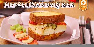 Kekleri Enfes Bir Tatlıya Dönüştürdük: Meyveli Sandviç Kek Nasıl Yapılır?