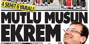 """Güneş Gazetesi """"Mutlu musun Ekrem?"""" Manşetiyle Tepkilerin Odağında"""