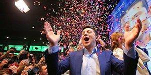 Oynadığı Dizi Gerçek Oldu: Komedyen Vladimir Zelenskiy Ukrayna'nın Yeni Başkanı!