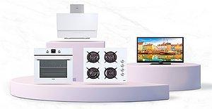 Mutfağınızdaki Tüm Ankastreleri Yenilerken Televizyonunuza da Yer Açmayı Unutmayın