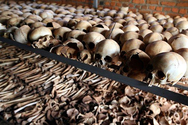 1994 - Ruanda Soykırımı.