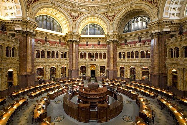 1800 - Dünyanın en büyük kütüphanesi olan Kongre Kütüphanesi kuruldu.