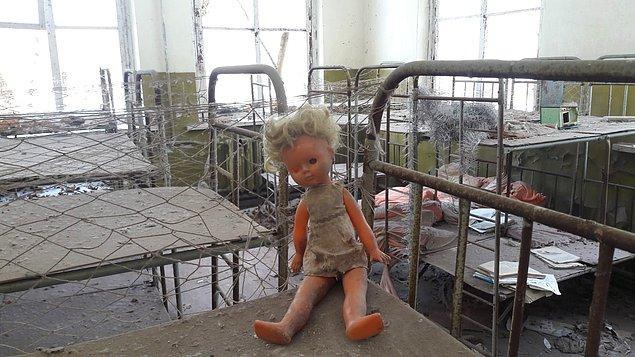 1986 - Çernobil faciası.