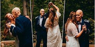 Düğün Fotoğraflarını Nişanlısı Yerine Kanser Hastası Olan Babası İle Çektiren Kadın