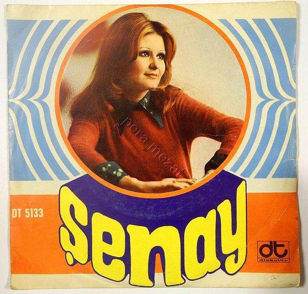 Şenay, 70'li yıllarda Türk Pop'unun en ünlü şarkıcılarından biriydi ve yaptığı 45'likler hep hit olurdu. 1980 yılına kadar birçok festivale katılarak Türkçe ve İngilizce şarkılar söyledi. Ve 7 ödülle uluslararası festivallerde en çok ödül alan pop müzik şarkıcısı oldu.