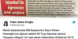 İmamoğlu'nun Öğrenci Akbili Vaadini Eleştiren AKP: '40 TL Olsun'