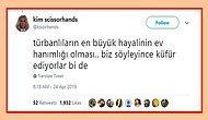 Twitter'da 'Türbanlıların En Büyük Hayalinin Ev Hanımlığı Olduğu'nu Söyleyen Kullanıcıya Tokat Gibi Cevaplar Geldi!